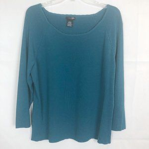 East 5th I Scoop Neck Bluet Stretchy Top